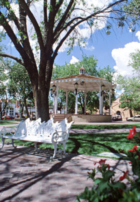 oldtown albuquerque gazebo